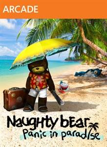 Naughty Bear Panic in Paradise jaquette