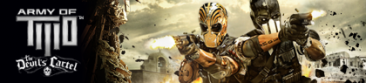 army of two cartel diable baniere
