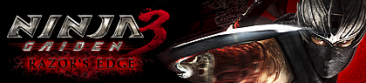 ninja gaiden razor edge banniere