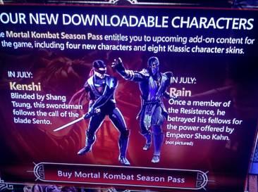 Mortal Kombat DLC