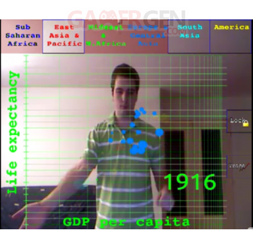 Kinect-manipulation de données