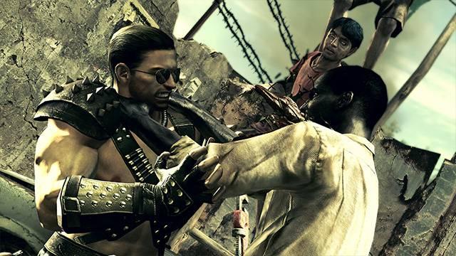 Resident Evil 5 Alternative Edition Costume DLC Capcom 1