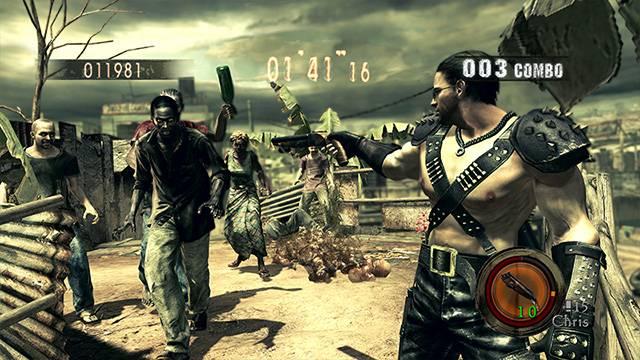 Resident Evil 5 Alternative Edition Costume DLC Capcom 4