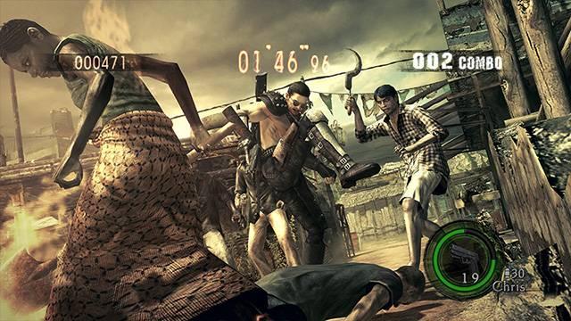 Resident Evil 5 Alternative Edition Costume DLC Capcom 6