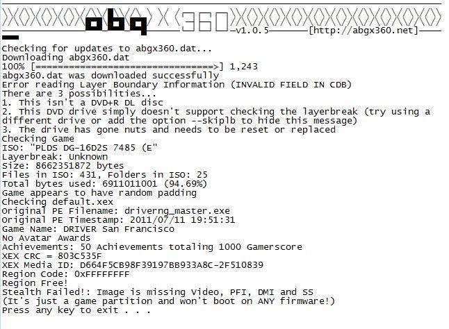 ABGX XGD3