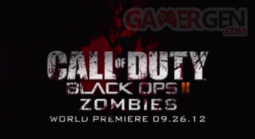 call of duty black ops 2 mode zombie world premiere