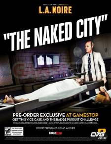 L.A Noire the naked city packshot