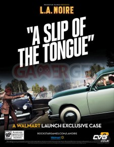 L.A Noire a slip of the tongue