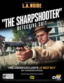 L.A Noire the sharpshooter detective suit