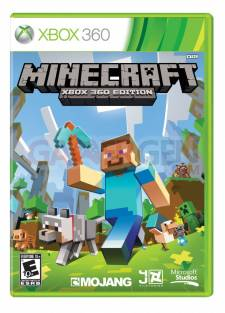 Minecraft Xbox 360 Edition jaquette