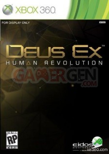 Deus Ex New Box Art