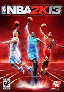 nba 2k13 couverture jaquette