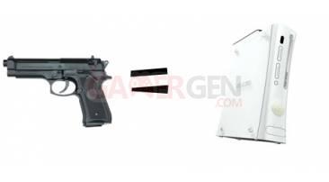 pistolet = xbox 360