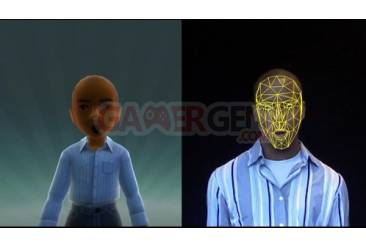 expression faciale avatar kinect