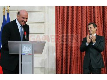 Steve Ballmer Legion d'Honneur Sarkozy