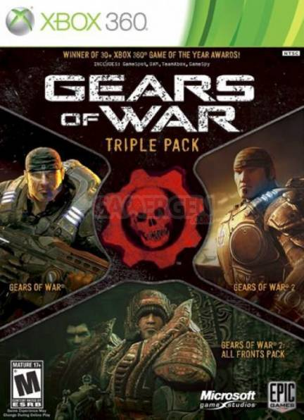 gears of war triple pack.