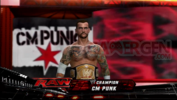 WWE '12 screenshot CM Punk 14-08-2011
