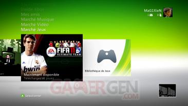 DASHboard XBOX 360 12611 GAMES-ON DEMAND