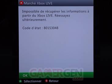Difficultés du Xbox-LIve 2