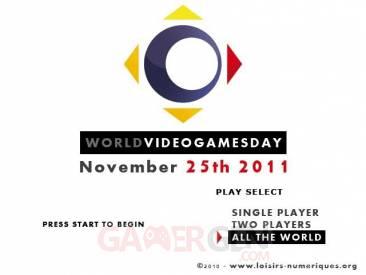 Journée Mondiale du Jeux Video loisirs numeriques