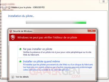 Installer X360 USB pro-6