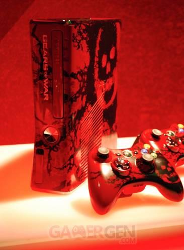 Xbox 360 S - Gears 3 2