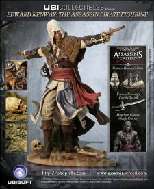 assassin's Creed IV black flag figurine exclusive uplay edward Kenway