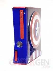 Xbox 360 S Captain America - captures 2
