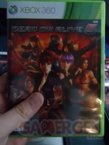 Dead or Alive 5 déballage Edition Collector 12