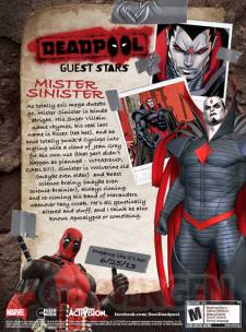 deadpool mister sinister