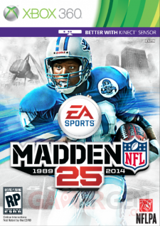 madden nfl 25 jaquette Xbox 360