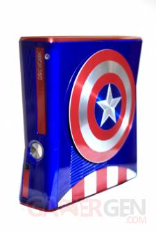 Xbox 360 S Captain America - captures 1