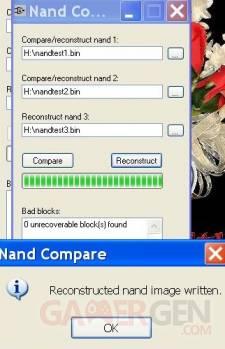 nand compare recontruct
