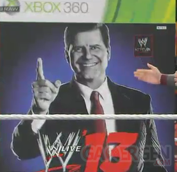 fausse jaquette wwe 13 john laurinatis