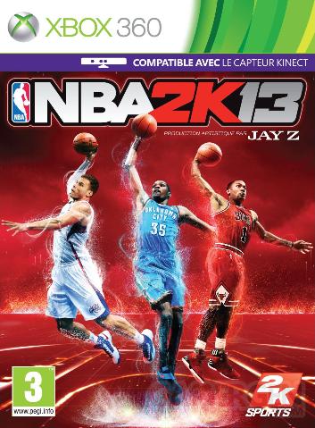 NBA 2k13 jaquette