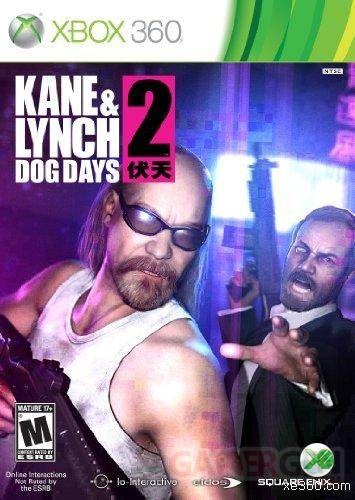 Kane and Lynch New Box Art