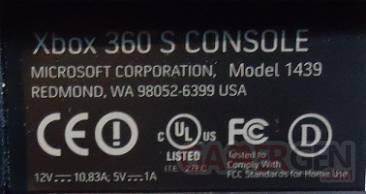 Ampérage Xbox 360