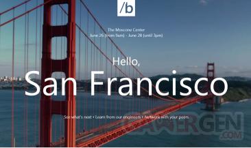 Build Conference San Francisco
