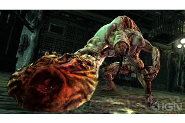 Splatterhouse namco Bandai images screenshots PS3 Xbox 360 - Copie