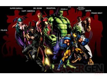 Marvel Vs Capcom 3 personnages (3)