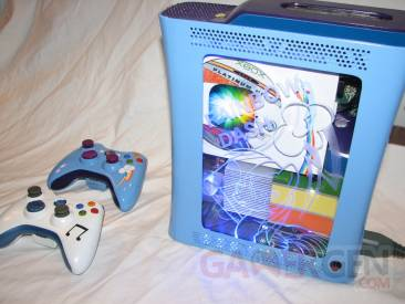 rainbow_dash_custom_xbox_360___interior_clear_by_nightowl3090-d4tc12y