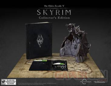 elder scrolls skyrim collector edition
