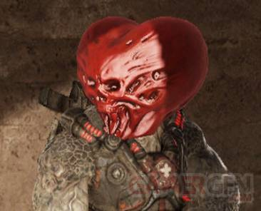 Gears of War 3 -St-valentin
