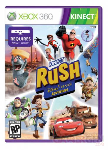 Kinect Rush - jaquette