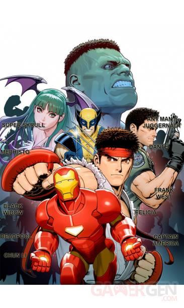 Marvel Vs Capcom 3 personnages (2)