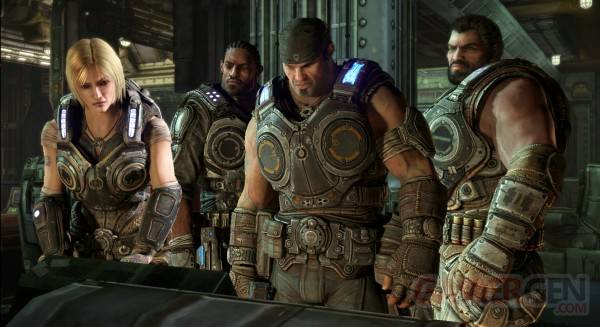 gears of war 3 extrait trailer 01