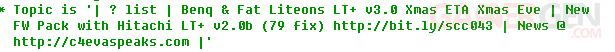 Rancor confirme la date de sortie du LT+ 3.0-2