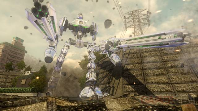Earth Defense Force 4 captures 2