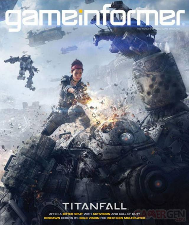 Titan Fall Cover Game informer