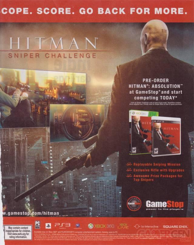 Gamestop-Hitman annonce